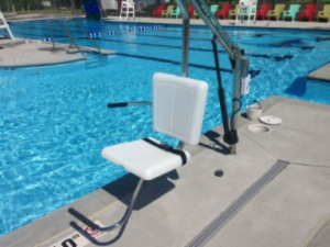 LIFT CHAIR FOR LAZY RIVER